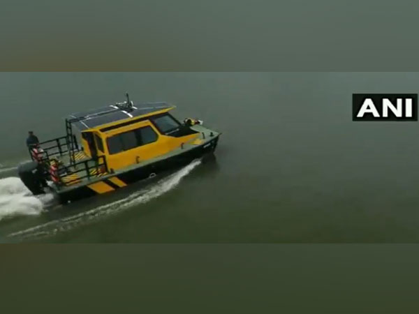 Kerala's first water taxi service was launched in the backwaters of Alappuzha. (Photo/ANI)