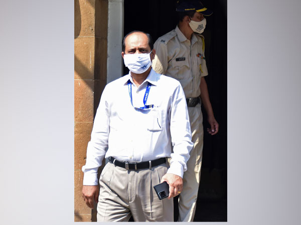 Sachin Waze, former Assistant Police Inspector in the Crime Intelligence Unit. (File Photo)