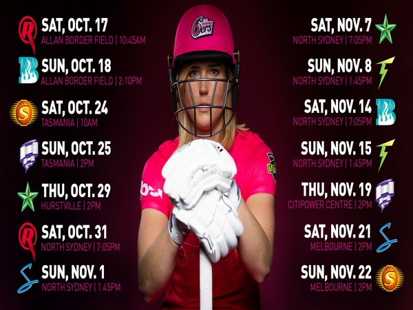 The Melbourne Renegades and Sydney Sixers will lock horns in the tournament opener. (Image: Sydney Sixers WBBL's Twitter)