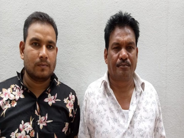 The bookies arrested for running a betting racket in Hyderabad. Photo/ANI