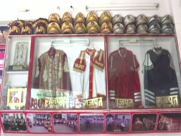 Visuals of Band operators uniform in Lucknow. (Photo/ANI)