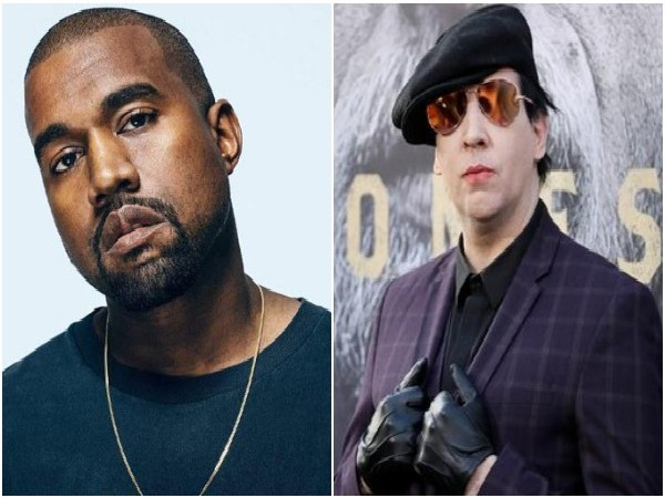 Kanye West and Marilyn Manson