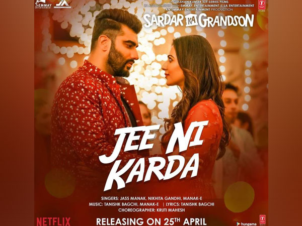Poster of the song 'Jee Ni Karda' (Image Source: Instagram)