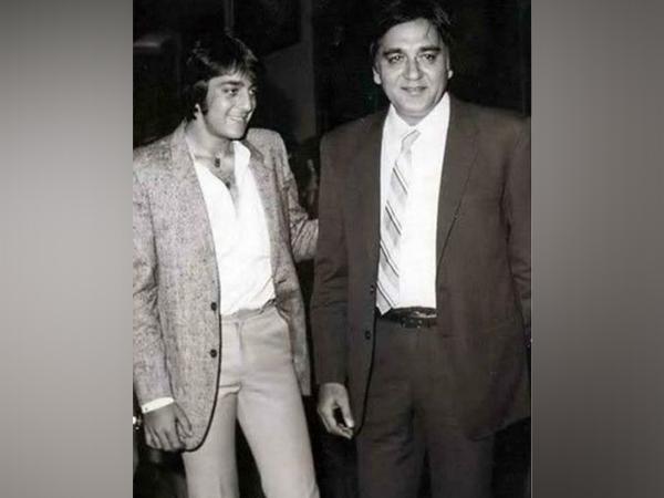 Sanjay Dutt and Sunil Dutt (Image courtesy: Instagram)