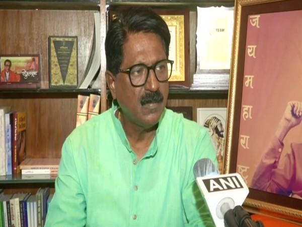 Shiv Sena MP Arvind Sawant. [Photo/ANI]