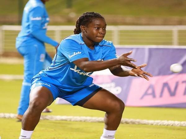 West Indies all-rounder Deandra Dottin (image: Deandra Dottin's Instagram )