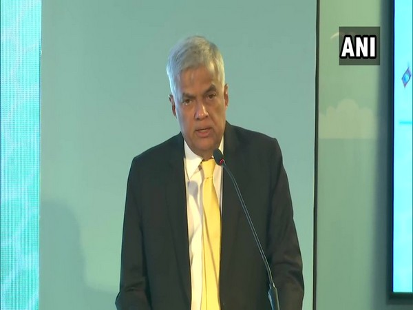 Sri Lankan Prime Minister Ranil Wickremesinghe at the Indian Ocean Conference in Maldives on Tuesday (file photo)