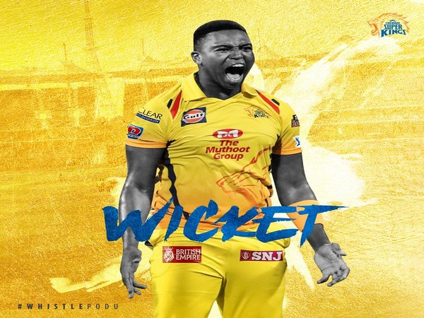 CSK bowler Lungi Ngidi (Image: CSK's Twitter)