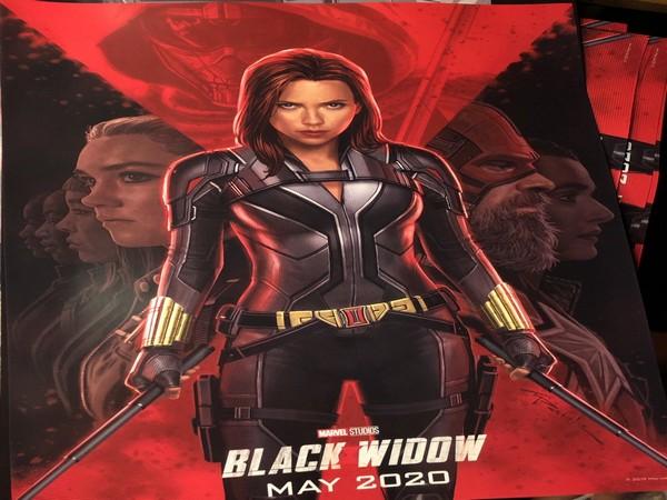 Black Widow Poster Features Natasha Romanoff S New Suit