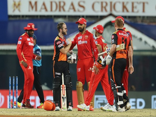 SRH chased down the target with 8 balls to spare. (Image: BCCI.IPL)