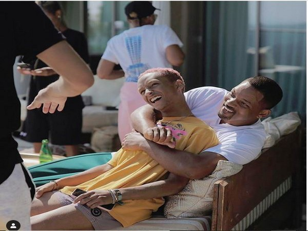 Jaden along with father Will Smith (Image courtesy: Instagram)