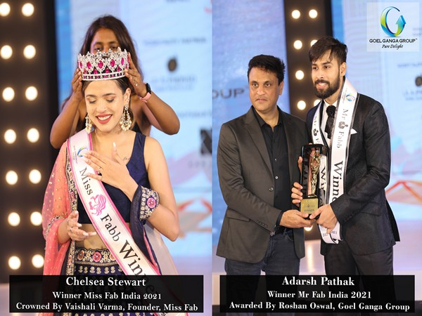 Mumbai's Chelsea Stewart wins Goel Ganga Miss Fab India while Goel Ganga Mr Fab India goes to Nagpur's Adarsh Pathak at the Grand National Finale in Goa