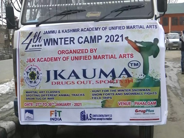 Jammu and Kashmir Academy of Unified Martial Arts winter camp commences today (Photo/ ANI)