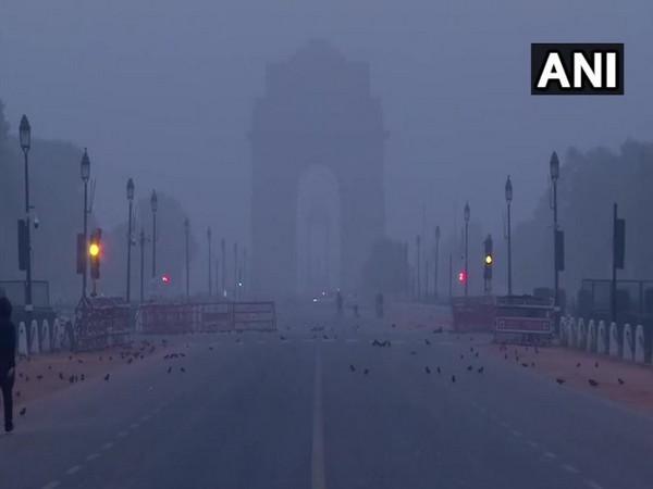 India gate on Tuesday morning. Photo/ANI