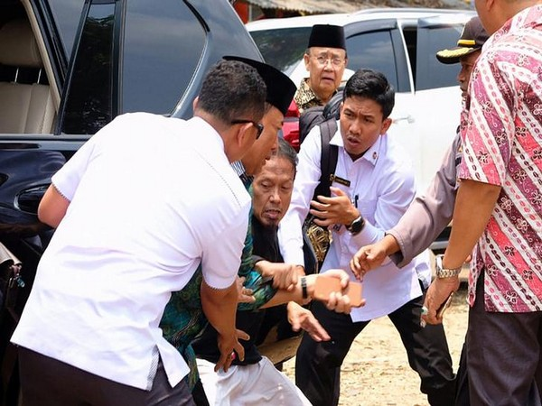 Indonesia's Chief Security Minister Wiranto was stabbed by a man on Thursday.