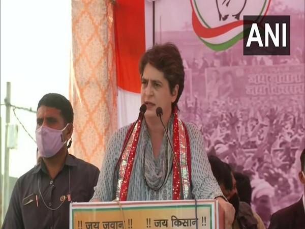Congress General Secretary Priyanka Gandhi [File Photo/ANI]