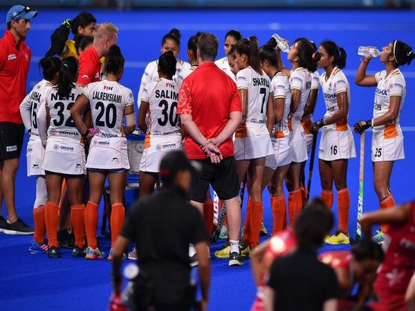 The Indian Women's Hockey team won the Olympic Test Event as they registered a 2-1 victory against Japan. (Photo/Hockey India Twitter)