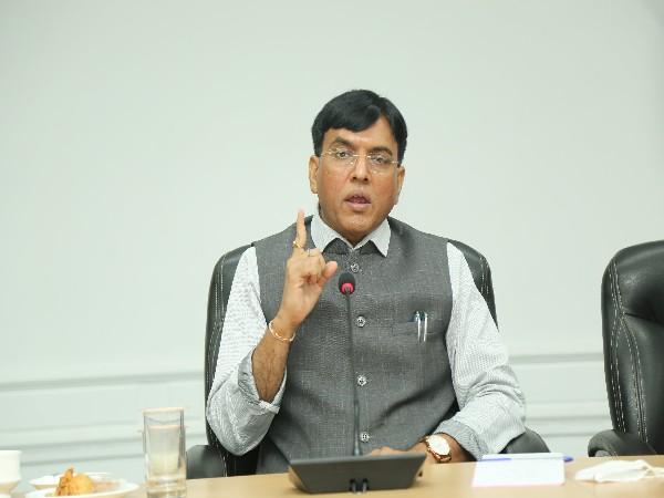 Union Minister of Health and Family Welfare Mansukh Mandaviya (Photo/ANI)