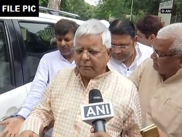 RJD leader Lalu Prasad Yadav (File Photo)