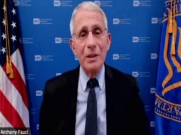 White House chief medical adviser Dr Anthony Fauci speaking to ANI on Thursday (local time).