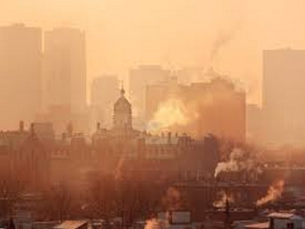 Nitrogen dioxide is a major component of smog and is an example of pollution caused by human activity, particularly our reliance on fossil fuels.