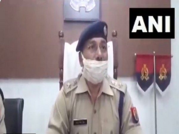 S Mishra, Superintendent of Police, Mathura (Photo/ANI)