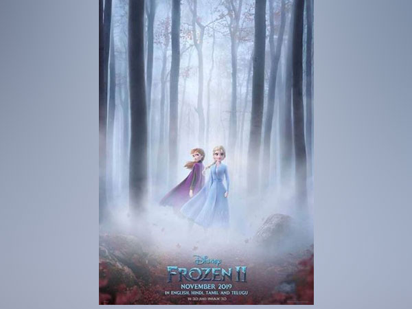 Character poster of 'Frozen 2', image courtesy: Instagram