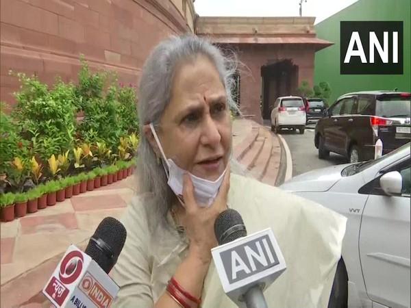 Samajwadi Party MP Jaya Bachchan (Photo/ANI)