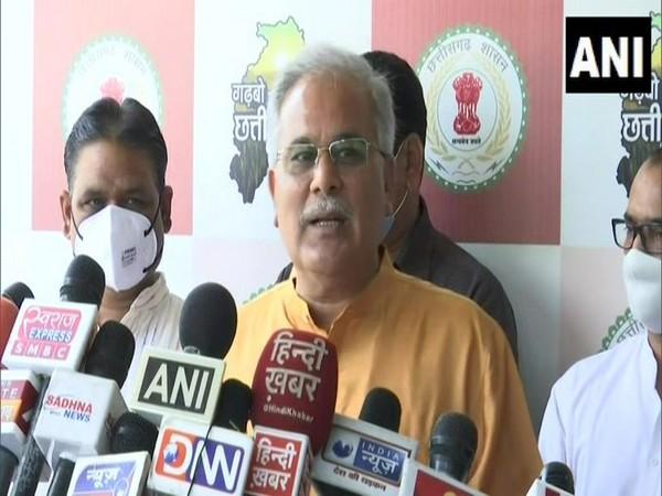 Chhattisgarh Chief Minister Bhupesh Baghel (Photo/ANI)