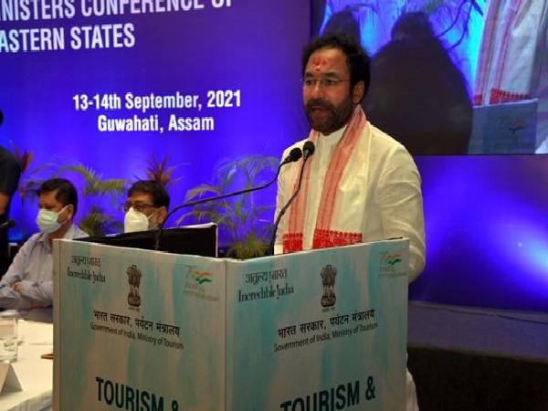 Union Minister for Tourism, G Kishan Reddy in Guwahati (Photo/PIB)