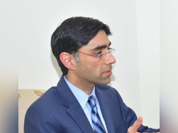 Moeed Yusuf, the unelected advisor on national security and strategic policy planning of the Pakistan Prime Minister Imran Khan