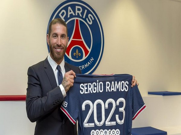 Spanish defender Sergio Ramos (Photo/ PSG Twitter)