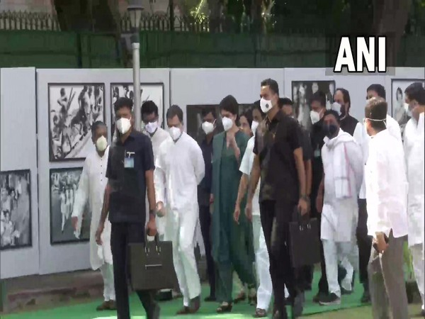 Visuals from photo exhibition at AICC office (Photo/ANI)