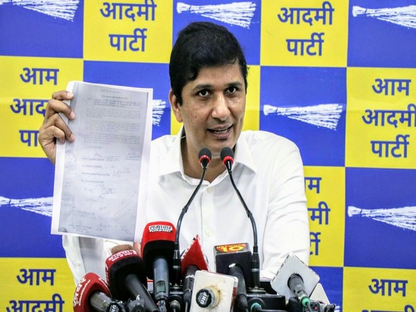 AAP spokesperson Saurabh Bhardwaj (Photo/ANI)
