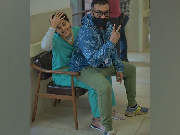 Taapsee Pannu and Anurag Kashyap (Image Source: Instagram)