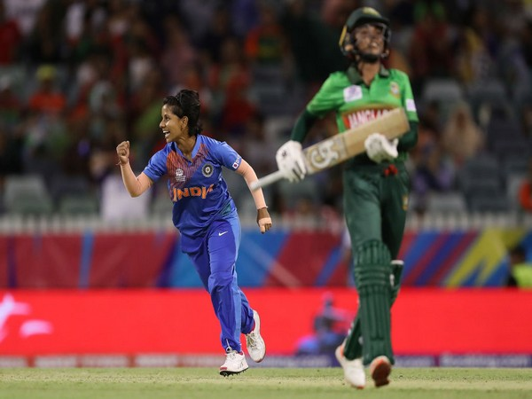 India spinner Poonam Yadav (Photo/T20 World Cup Twitter)