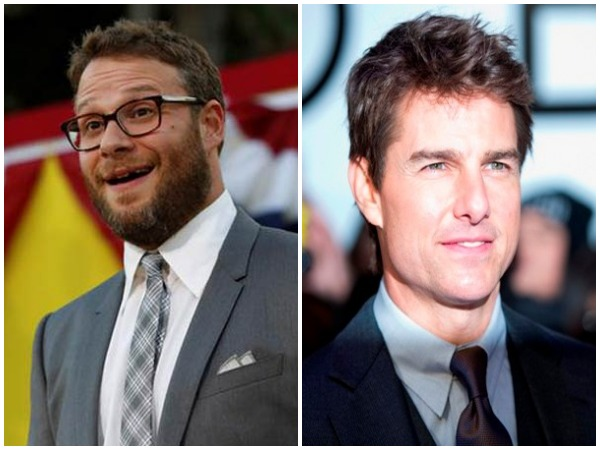 Seth Rogen and Tom Cruise