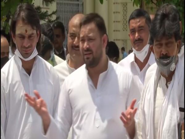 RJD leader Tejashwi Yadav. (Photo/ ANI)