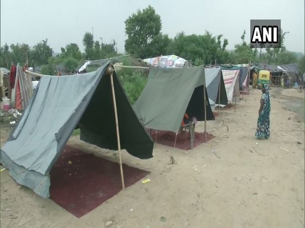 "On Tuesday, Yamuna river was flowing at 205.94 meters, 0.61 meters above the ""danger mark"" of 205.33 meters."