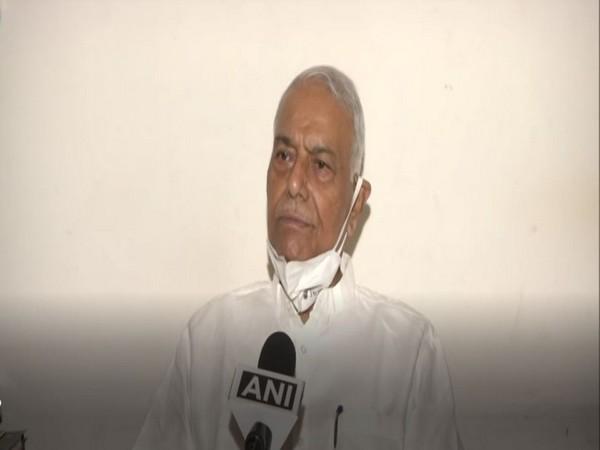 Former Union External Affairs Minister Yashwant Sinha (Photo/ANI)