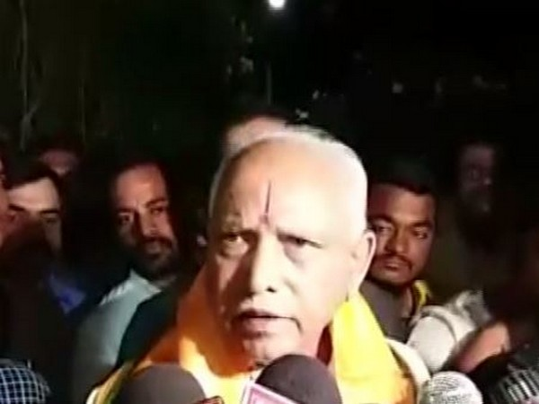 Karnataka Chief Minister BS Yediyurappa talking to media persons here in Hyderabad on Thursday