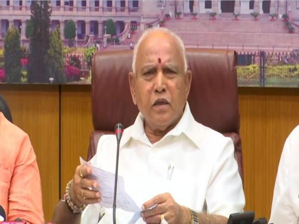 Karnataka CM B S Yediyurappa (file pic)