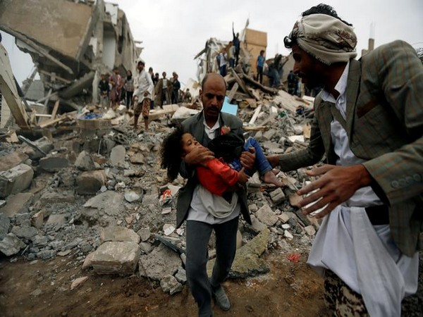 File photos of the Yemeni civil war