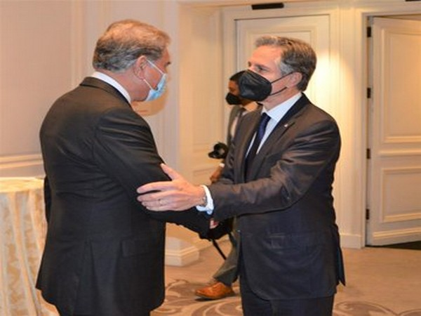 US top diplomat Antony Blinken and Pakistan Foreign Minister Shah Mahmood Qureshi
