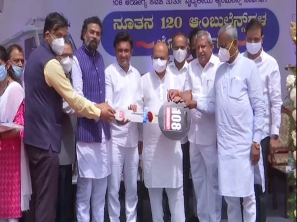 Karnataka Chief Minister Basavraj Bommai inaugurating ambulances at Vidhana Soudha, Bangalore on Sunday. (Photo/futsal meaning in nepali)