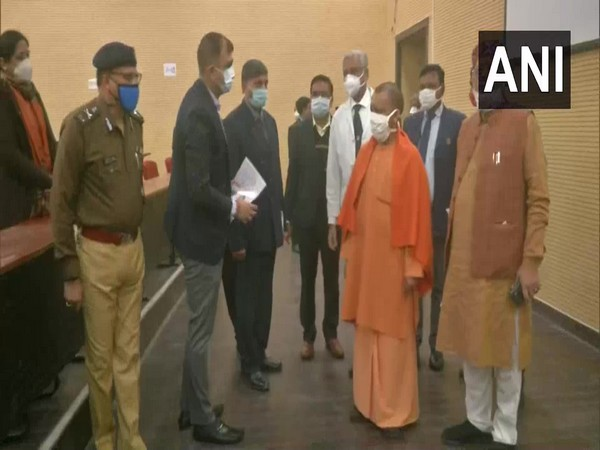 UP CM Yogi visits RMLIMS to inspect ongoing dry run
