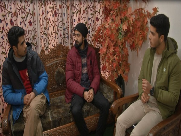 Junaid Hanief and his associates in 'The Urban Sufis' (Photo/ANI)