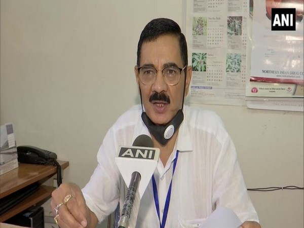 YS Rawat Licence Officer, Uttarakhand Ayurved Department speaking to ANI on Wednesday. (Photo/ANI)
