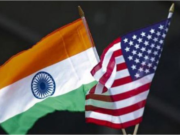 India and US flags