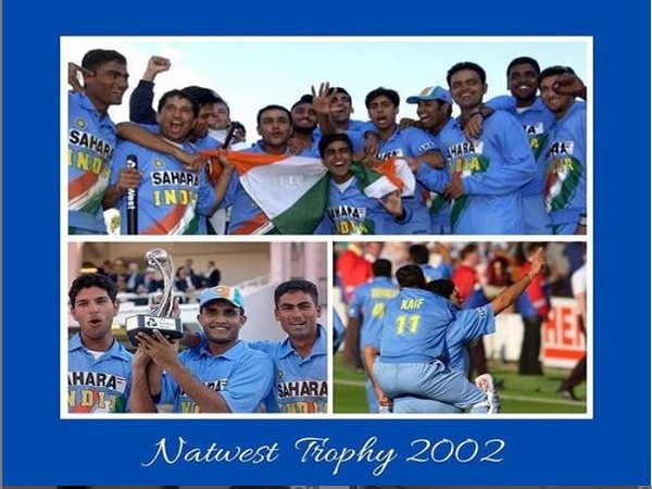 Indian team celebrating after Natwest final triumph (Photo/ Yuvraj Singh Instagram)